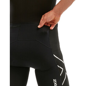 2XU Compression Full Zip Sleeved Trisuit Men black/chroma